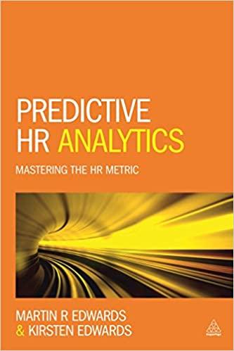 Predictive HR Analytics Mastering the HR Metric by Kirsten & Martin Edwards